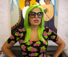 Slime Green Hair Color by Laura NYC Salon
