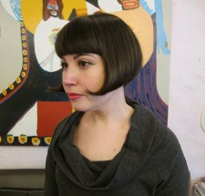 French Bob hairstyle classic salon nyc seagull 10014