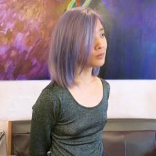 deep pastel purple seagull hair salon west village manhattan 10014