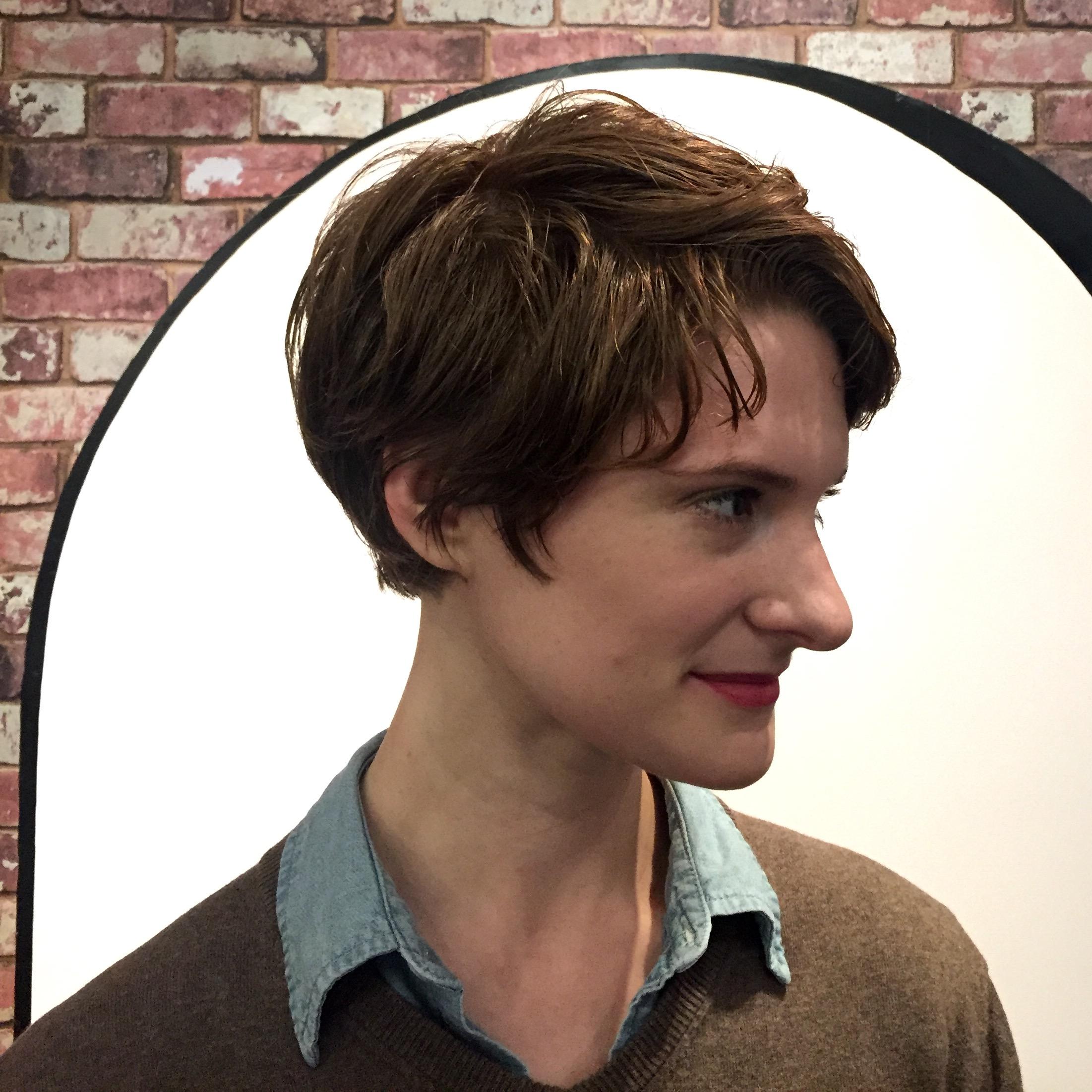 Seagull Boutique Hair Salon Hair Salon NYC West - Classic pixie hairstyle