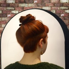 red hair color bangs salon west village nyc