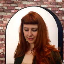 red hair color with bangs salon nyc 10023