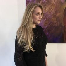 Beautiful natural blonde highlights salon downtown NYC 10014