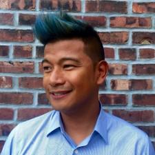 blue hair west village hair salon nyc 10014