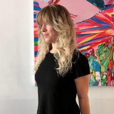 natural blonde highlights long layers bangs seagull hair salon west village nyc 10014