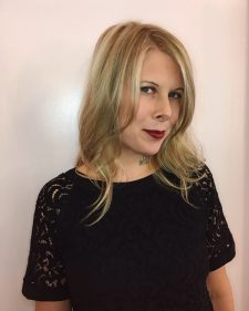 natural blonde highlights long layers seagull hair salon west village nyc