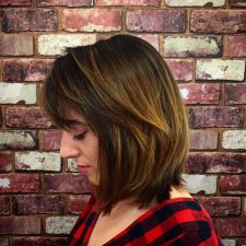 natural highlights balayage hair salon manhattan nyc downtown