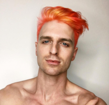 orange hair mens color salon downtown nyc 10014 10013