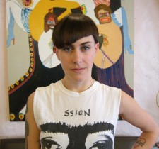 Avant Garde asymmetrical bangs undercut salon nyc