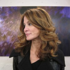 Balayage highlight brunette hair color salon nyc