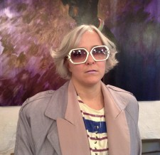 muted mauve platinum blonde hair salon downtown nyc playing dress up for keeps