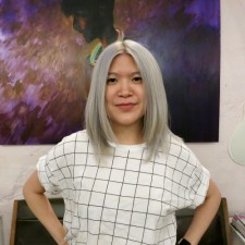 platinum blonde long bob seagull hair salon west village manhattan 10014