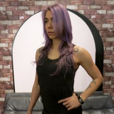 violet lilac purple hair color salons for nyc 10014