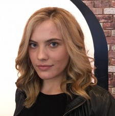 blonde balayage highlights salon colorist layers nyc