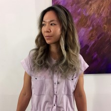 Gray omvre highlights seagull hair salon west village nyc