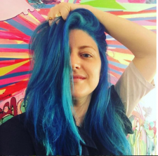 blue hair salon downtown nyc 10014 10013