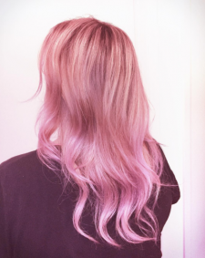 mauve pink hair salon downtown nyc 10014 10013
